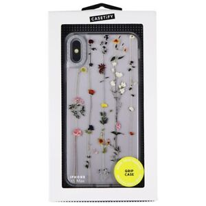 Casetify Floral Grip Case for Apple iPhone Xs Max - Clear/Patterned