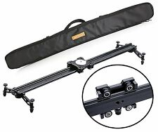 "Movo MV-S85 33"" Camera Slider Track Glider System with Roller Bearing Platfor..."