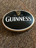 3D OVAL GUINNESS BEER PUMP OR T BAR BADGE