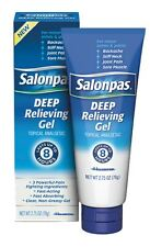 Salonpas Deep Relieving Gel 2.75 oz (Pack of 3)