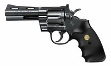 Tokyo Marui Colt Python 357 Magnum 4 Inch Black Model Over 10 Years Old Air Hop