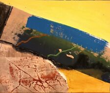 More details for cornish abstract landscape colour nigel waters original mixed media*