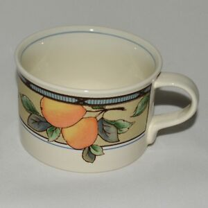 """Mikasa """"GARDEN HARVEST""""  CAC29 - Flat Tea Cup - Like New - Several available"""