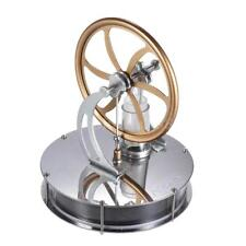 Low Temperature Stirling Engine Motor Steam Heat Education Model Toy 180RPM Gift
