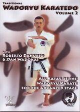 Traditional Wadoryu Karate-Do #2 Advanced Katas Dvd Danubio