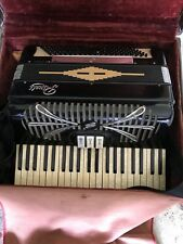 ACCORDION -RIVOLI BY SONOLA  -MODEL # R241 -With Case. In Good Condition
