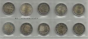 seconda 2013 MONETE E FOLDER DEI 2 EURO COMMEM. UNC SCEGLI QUELLE CHE TI SERVONO