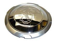 500 500 C Abarth Wheel Cap couverture Argent et chrome effet NEUF & AUTHENTIQUE 51888656