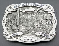 Kentucky Coal Miner Drill Blaster Belt Buckle