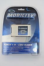 NEW Iconcepts Mobility Pcmcia Laptop 4 in 1 Card Reader, FREE 3 DAY SHIPPIN