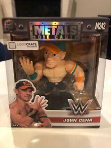 WWE Wrestling John Cena Metals Die Cast Figure
