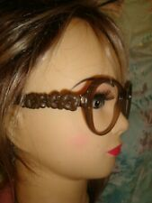 CHANEL 5316q glasses/sunglasses frame c.1511 Brown Camellia  56[]17 135 RRP £390