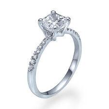 Princess Platinum Fine Diamond Rings