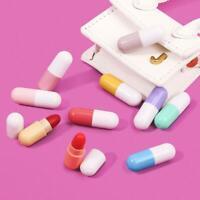 Mini Capsule Matte Liquid Lipstick Lip Gloss Make-up Tube Capsule Lipstick O9I0