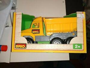 Brio DUMP TRUCK, PLASTIC, NEW IN BOF. FREE SHIP, #45322