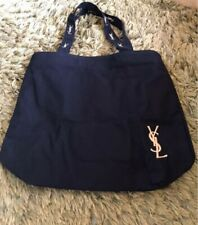 "Yves Saint Laurent Tote Bag Black Pink  33cm(12.9"")×37㎝(14.5"")Japan"