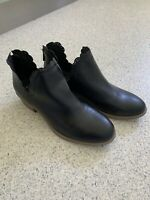 LADIES I LOVE BILLY ANKLE BOOT BLACK WITH ZIP SZ 42 Barely Worn