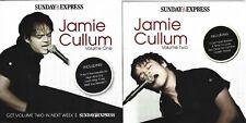 JAMIE CULLUM - 2 DISCS - SUNDAY EXPRESS PROMO MUSIC CD