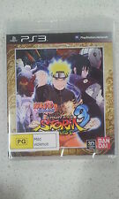 Naruto Shippuden Ultimate Ninja Storm 3 Full Burst PS3 Brand New and Sealed