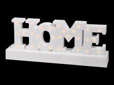 LED Stimmungsbeleuchtung HOME Deko Dekoleuchte beleuchteter Schriftzug 220339