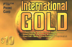 International Calling Card (Phone Card) $10 with 500 Minutes USA - e-delivery