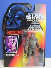 star wars SHADOWS OF THE EMPIRE CHEWBACCA action figure 1996 vintage SOTE 87H