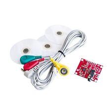 Single Lead AD8232 Double Poles Pulse Heart Rate Monitor ECG Sensor Module AU