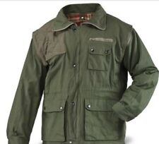 Hungarian Military Surplus Forestry Lined Hunting Jacket with Zip-Off Sleeves 54