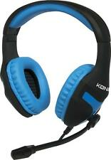 NEUF - Casque Gaming Headset bleu pour PS4