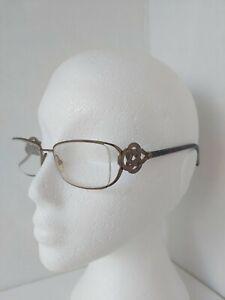 GIORGIO ARMANI GA 719 eyeglasses glasses frame - brown knot design