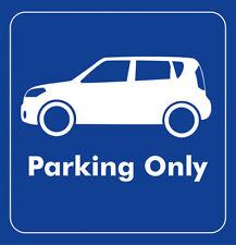 Parking Only - Kia Soul - Aufkleber