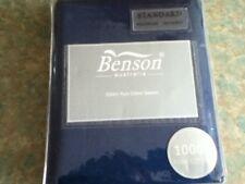 1000TC Pure Cotton Sateen Pillowcase (Pair) - Benson Australia