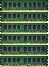 NEW 24GB (6x4GB) Memory ECC Unbuffered For Dell Precision T3500 DDR3-1333MHz