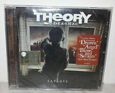 CD THEORY OF A DEADMAN - SAVAGES - NUOVO NEW