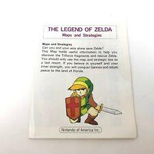 The Legend of Zelda NES Nintendo Map Guide Only