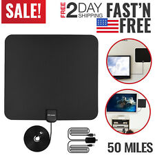 TV Antenna HD Digital Indoor Television HDTV Electronic Over The Air Range