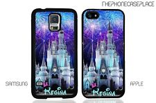 Walt Disney Castle Fireworks Apple iPhone and Samsung Galaxy Phone Case Cover