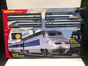 MEHANO HO Coffret Train électrique TGV ALTLANTIQUE Neuf