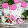 20 Pill Bottles JARS PINK Caps Birthday Party Jars Candy Favor #3814 DecoJars US