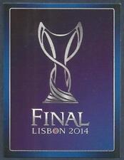 PANINI UEFA CHAMPIONS LEAGUE 2013-14- #629-FINAL LISBON 2014