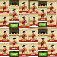 20x Torero ### Coin Master Cards (Fastest Delivery)