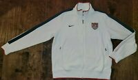 NIKE USA SOCCER TEAM AUTHENTIC N98 TRACK JACKET FIFA WORLD CUP 2014 MENS SIZE XL