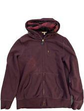 Burberry Mens Zip-Up Hoodie - XL