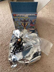Gi Joe Transformers Vinyl Keychain Kidrobot Baroness