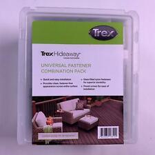 Trex Hideaway Hidden Fasteners Universal Fastener Combination Pack