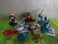 Skylanders TRAP TEAM - 6 Figures with Echo , and 3 Traps  - new