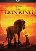 The Lion King DVD (Live Action Version 2019) - Brand New!  Free Shipping!