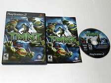 TMNT Sony Playstation 2 PS2 Video Game Complete