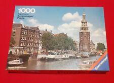 Puzzle 1000 Teile 69,9x49,6 cm von Ravensburger - Motiv Amsterdam