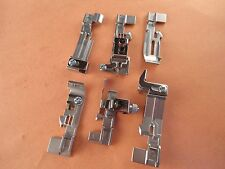 6 Sewing Serger Feet Kit Husqvarna Viking Huskylock S21 , S25
